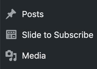subscribe.to Wordpress plugin
